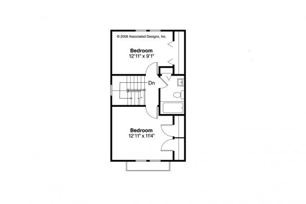 Victorian House Plan - Pearl 42-010 - 2nd Floor Plan