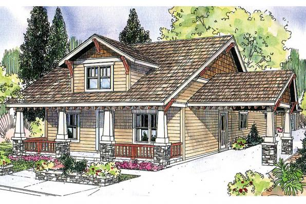 Bungalow House Plan - Markham 30-575 - Front Elevation