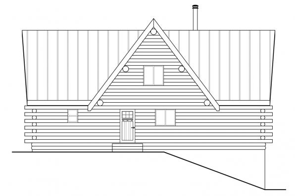 Cottage House Plan - Eagle Rock 30-919 - Front Elevation