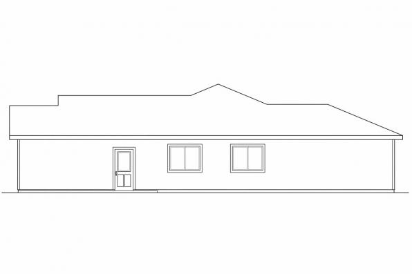 Cottage House Plan - Harlequin 30-759 - Right Elevation