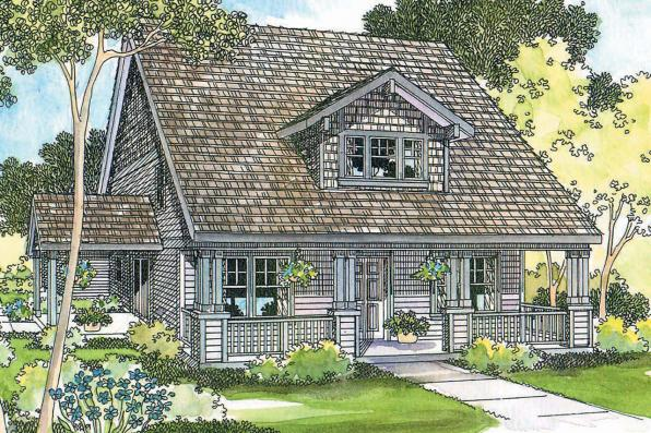 Craftsman House Plan - Ambridge 10-323 - Front Elevation