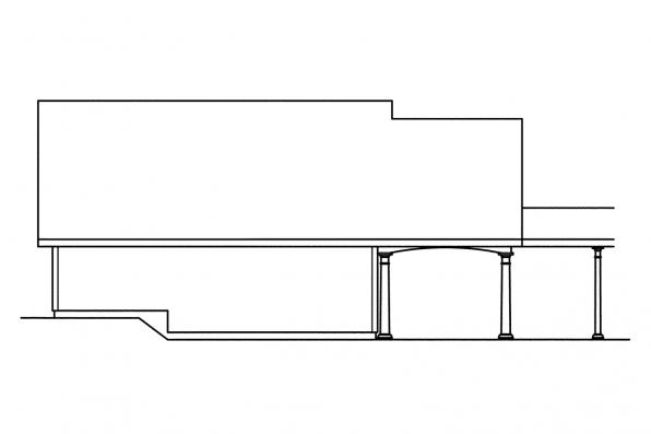 Garage Design 20-015 - Rear Elevation