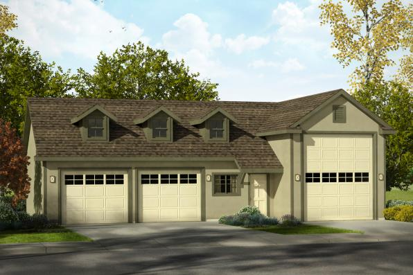 Garage Plan 20-169 - Front Elevation