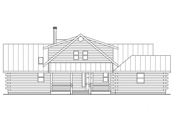 Sloped Lot House Plan - Kodiak 30-697 - Front Elevation