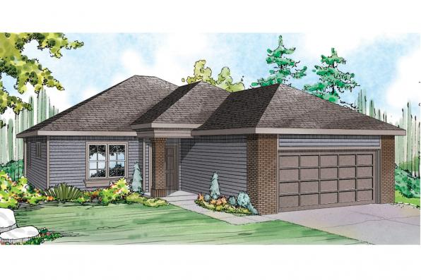 Traditional House Plan - Alden 30-904 - Front Elevaiton