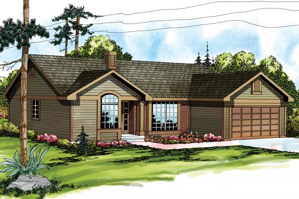 Traditional House Plan - Phoenix 10-061 - Front Elevation