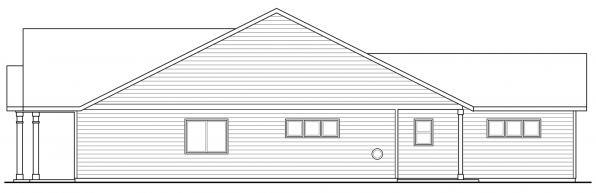 Caspian - 30-868 - Cottage Home Plans - Right Elevation