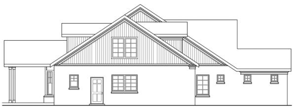 Heartsong - 10-470 - Craftsman Home Plans - Right Elevation
