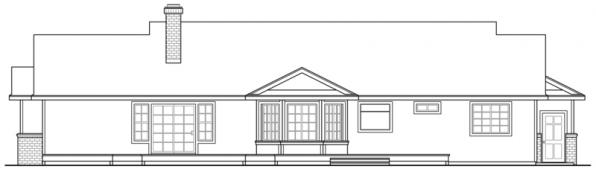 Eastport - #10-548 - Rear Elevation