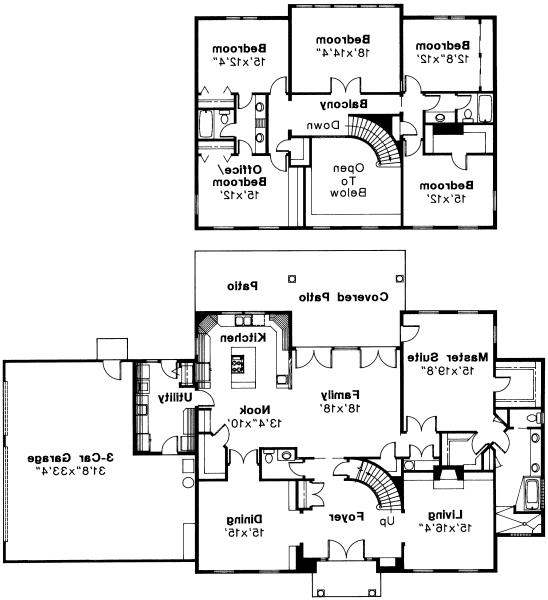 Kearney - 30-062 - Estate Home Plans - Floor Plan