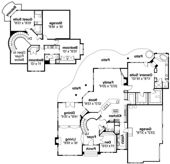 Macleod - 30-120 - Estate Home Plan - Floor Plan