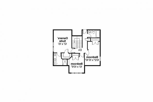 Bungalow House Plan - Fillmore 30-589 - 2nd Floor Plan