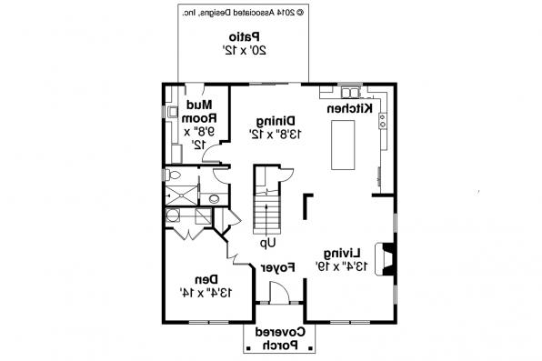 Cape Cod House Plan - Hanover 30-968 - First Floor Plan