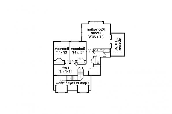 Classic House Plan - Laurelwood 30-722 - 2nd Floor Plan