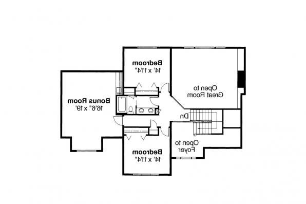 Classic House Plan - Richfield 10-352 - 2nd Floor Plan