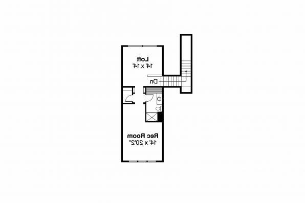 Classic House Plan - Wellesley 30-494 - 2nd Floor Plan
