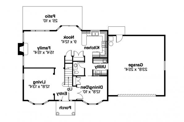 Colonial floor plans 28 images colonial house plans for Colonial floor plans open concept