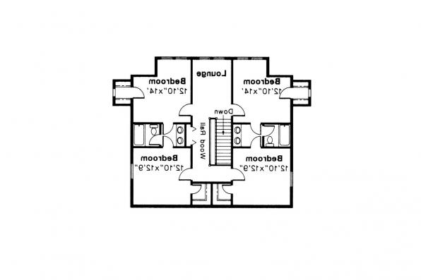 Colonial House Plan - Kinderhook 42-003 - 2nd Floor Plan