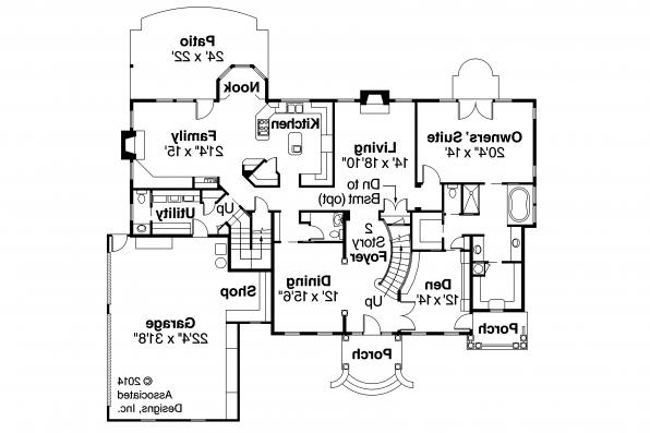Colonial house plans palmary 10 404 associated designs for Classic colonial floor plans