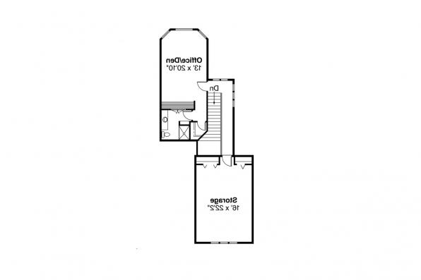 Contemporary House Plan - Asbury 30-237 - 2nd Floor Plan