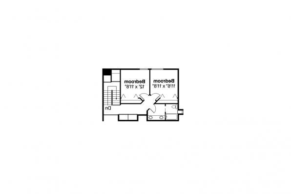 Contemporary House Plan - Candelaria 10-014 - 2nd Floor Plan