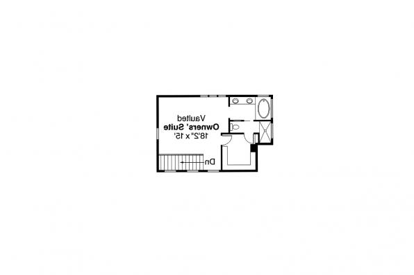 Contemporary House Plan - Fairview 51-008 - 2nd Floor Plan