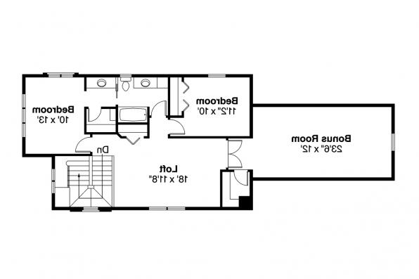 Contemporary House Plan - Larkspur 30-880 - 2nd Floor Plan