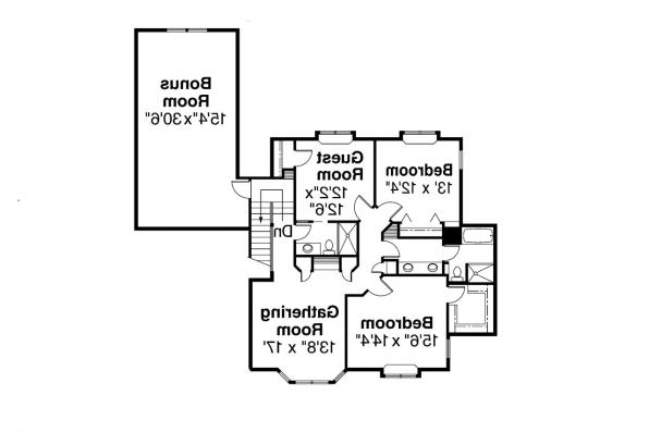 Contemporary House Plan - Middleton 30-135 - 2nd Floor Plan