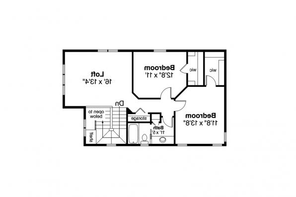 Contemporary House Plan - Montrose 30-823 - 2nd Floor Plan