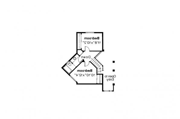 Contemporary House Plan - Normandy 10-050 - 2nd Floor Plan