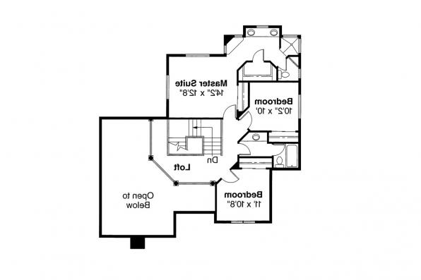 Contemporary House Plan - Parker 30-002 - 2nd Floor Plan