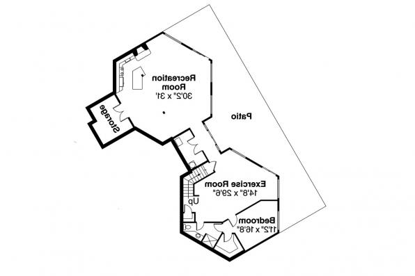 Contemporary house plans ravendale 10 523 associated for Daylight basement ranch house plans