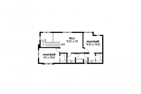 Contemporary House Plan - Rock Creek II 30-820 - 2nd Floor Plan
