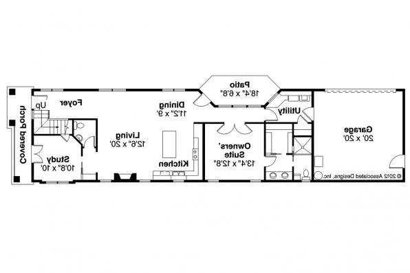 Contemporary House Plan - Rock Creek 30-821 - 1st Floor Plan