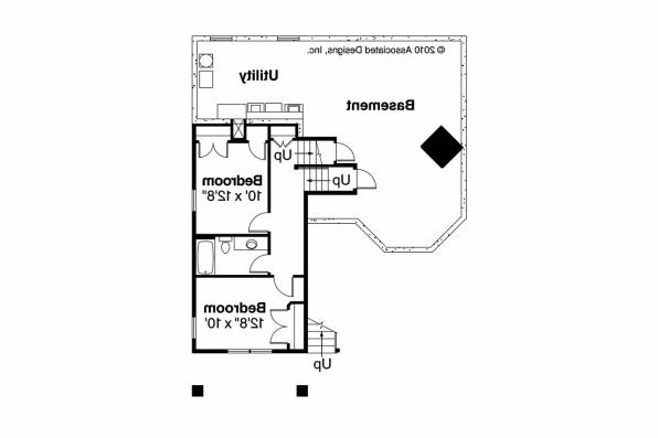 Cottage House Plan - Eagle Creek 30-725 - Basement Floor Plan
