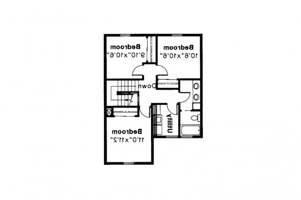Country House Plan - Abbot 10-075 - 2nd Floor Plan