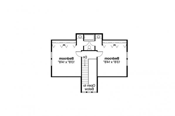 Country House Plan - Altadena 41-006 - 2nd Floor Plan