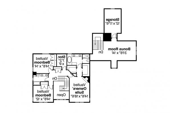 Country House Plan - Ambrosia 30-752 - 2nd Floor Plan