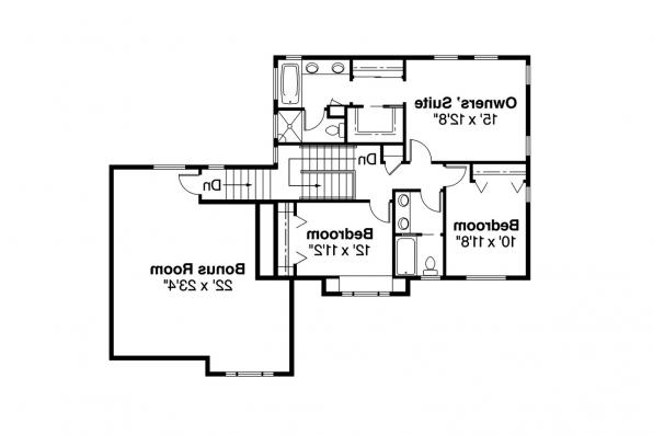 Country House Plan - Arundel 30-200 - 2nd Floor Plan