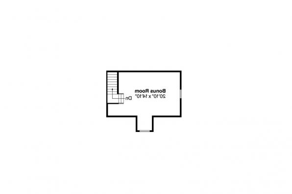 Country House Plan - Binghamton 10-259 - 2nd Floor Plan