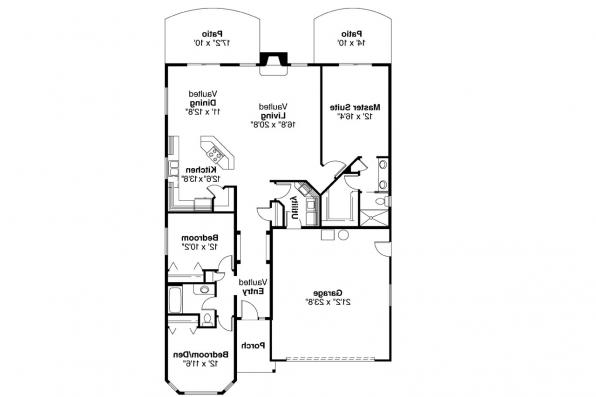 Country House Plan - Bradford 30-189 - Floor Plan