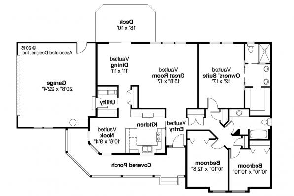 Country House Plan - Briarton 30-339 - Floor Plan