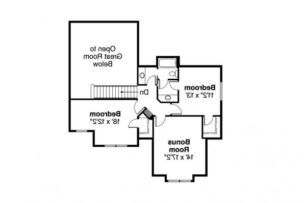 Country House Plan - Brookside 30-613 - 2nd Floor Plan