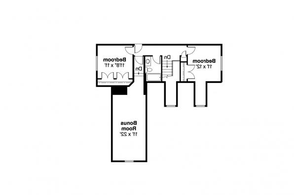 Country House Plan - Brookview 30-055 - 2nd Floor Plan