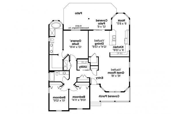 Country House Plan - Callahan 30-886 - Floor Plan