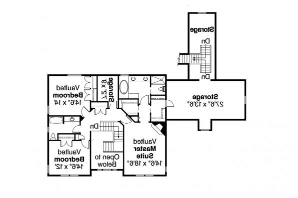 Country House Plan - Eganville 30-428 - 2nd Floor Plan