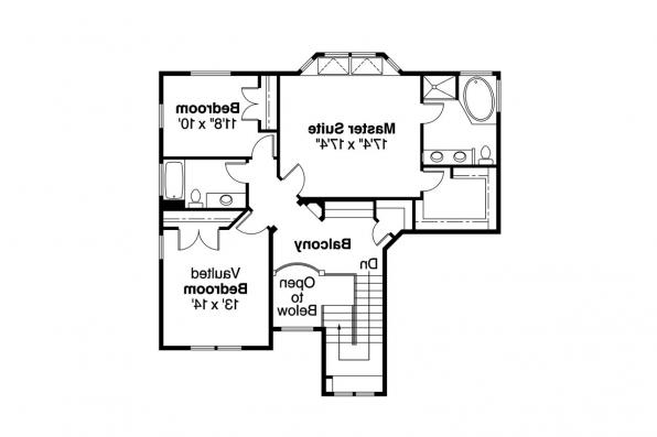 Country House Plan - Frederick 30-507 - 2nd Floor Plan