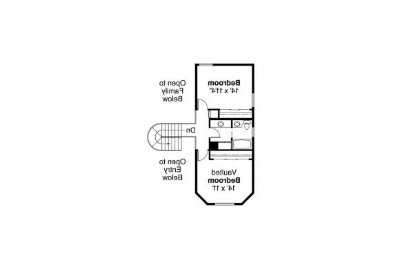 Country House Plan - Hayward 10-134 - 2nd Floor Plan