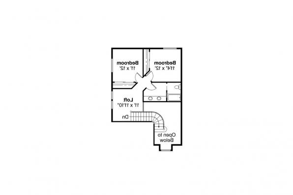 Country House Plan - Heartland 10-060 - 2nd Floor Plan