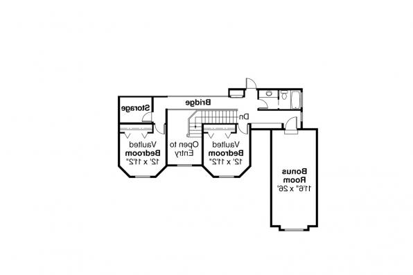 Country House Plan - Heartridge 10-250 - 2nd Floor Plan
